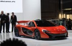 McLaren P1 Supercar: First Specs And Live Photos