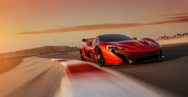 McLaren P1 at Bahrain International Circuit