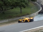 McLaren P1 GTR Near Crash Laguna Seca