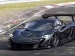 McLaren P1 LM Nürburgring video