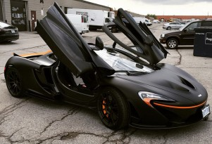 McLaren P1 owned by Canadian DJ Deadmau5
