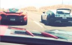 McLaren P1 Vs. Bugatti Veyron Drag Race In The Wild: Video