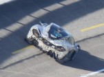 McLaren P1 supercar spy shots