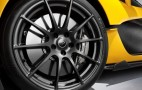 How The McLaren P1 Puts Its Power Down: Bespoke Pirelli Tires (Video)