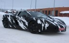 V-8-Powered McLaren P11 Supercar Spy Shots