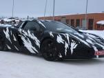 McLaren P11 prototype spy shot