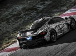Latest McLaren P1 Supercar Adds Hybrid Technology To V-8 Engine