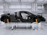 McLaren P1's MonoCage carbon fiber monocoque
