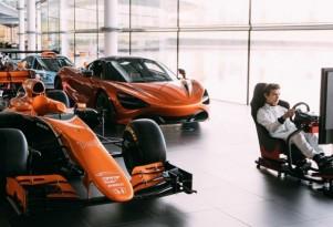 McLaren Worlds Fastest Gamer competition