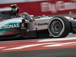 Mecedes AMG's Nico Rosberg at the 2015 Formula One Mexican Grand Prix