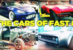 Meet the cars of 'Fast and Furious 8'
