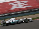 Mercedes AMG at the 2012 Formula 1 Chinese Grand Prix