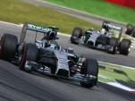 Mercedes AMG at the 2014 Formula One Italian Grand Prix