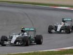 Mercedes AMG at the 2015 Formula One Austrian Grand Prix