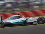 Mercedes AMG at the 2015 Formula One British Grand Prix