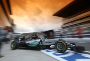 Mercedes AMG at the 2015 Formula One Russian Grand Prix
