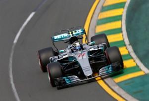 Mercedes AMG at the 2017 Formula One Australian Grand Prix