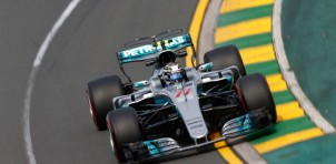 Mercedes AMG at the 2017 Formula One Australian Grand Prix