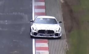 Mercedes-AMG GT Black Series prototype