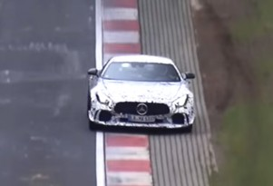 Mercedes-AMG GT Black Series prototype