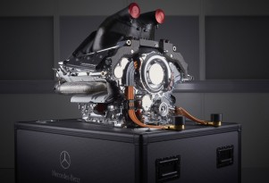 Mercedes AMG power unit from the 2015 Formula One World Championship