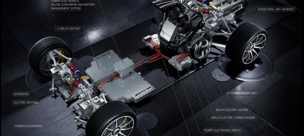 Mercedes-AMG 'Project One' powertrain