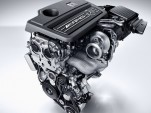 Mercedes-AMG turbocharged four-cylinder engine