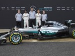 Mercedes AMG W07 Hybrid 2016 Formula One car