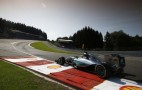 Mercedes AMG Locks Out Front Row For 2015 Formula One Belgian Grand Prix