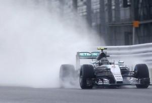 Mercedes AMG's Nico Rosberg at the 2015 Formula One Japanese Grand Prix