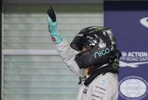 Mercedes AMG's Nico Rosberg at the 2016 Formula One Abu Dhabi Grand Prix