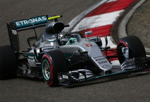 Mercedes AMG's Nico Rosberg at the 2016 Formula One Chinese Grand Prix