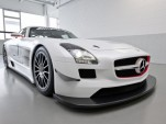Mercedes-Benz SLS AMG GT3 race car