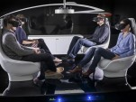Mercedes-Benz autonomous-car interior concept at TecDay, Sunnyvale, California