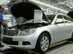 Mercedes Benz C-Class production in Bremen