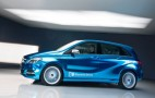 Mercedes-Benz Concept B Class Electric Drive: 2012 Paris Auto Show