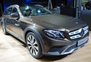 Mercedes-Benz E-Class All-Terrain, 2016 Paris auto show