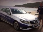 Mercedes-Benz E300 Bluetec Hybrid driven 1,223 miles on one tank of diesel