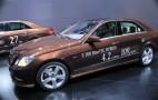 Mercedes E400 Hybrid, E300 Bluetec Hybrid Live Photos: 2012 Detroit Auto Show