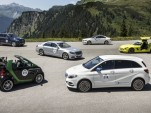 Mercedes-Benz electrified cars