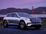 Mercedes-Benz EQ electric car concept  [photo: Axel Harries]