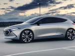 Mercedes-Benz Concept EQA small electric hatchback debuts in Frankfurt