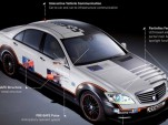 Mercedes Benz Shows Off Future of Safety Tech With ESF 2009 Prototype