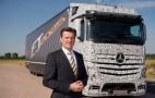 Mercedes Looks Into Autonomous Trucks