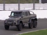 Mercedes-Benz G63 AMG 6x6 at Zandvoort screencap