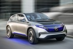 Mercedes previews first of 'EQ' electric cars with SUV concept