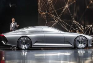 Mercedes-Benz Intelligent Aerodynamic Automobile concept, 2015 Frankfurt Auto Show