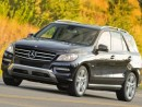 2012 Mercedes-Benz M Class 4MATIC 4-Door ML63 AMG