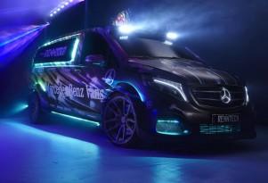 Mercedes-Benz Metris Party/DJ Van by RENNtech, 2014 SEMA show