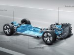 Mercedes-Benz modular platform for electric cars